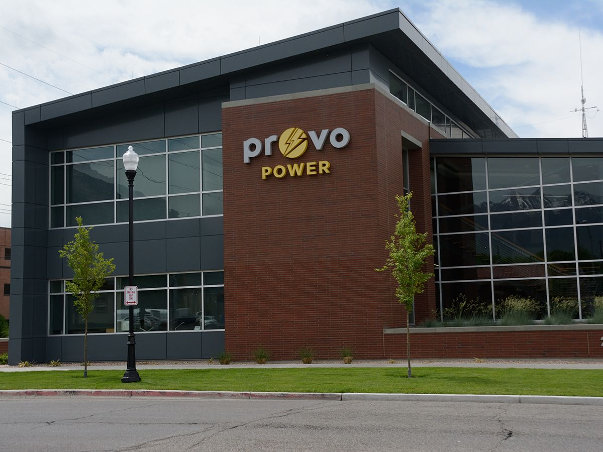 New power plant and generator sets provide cleaner air for Provo, Utah.