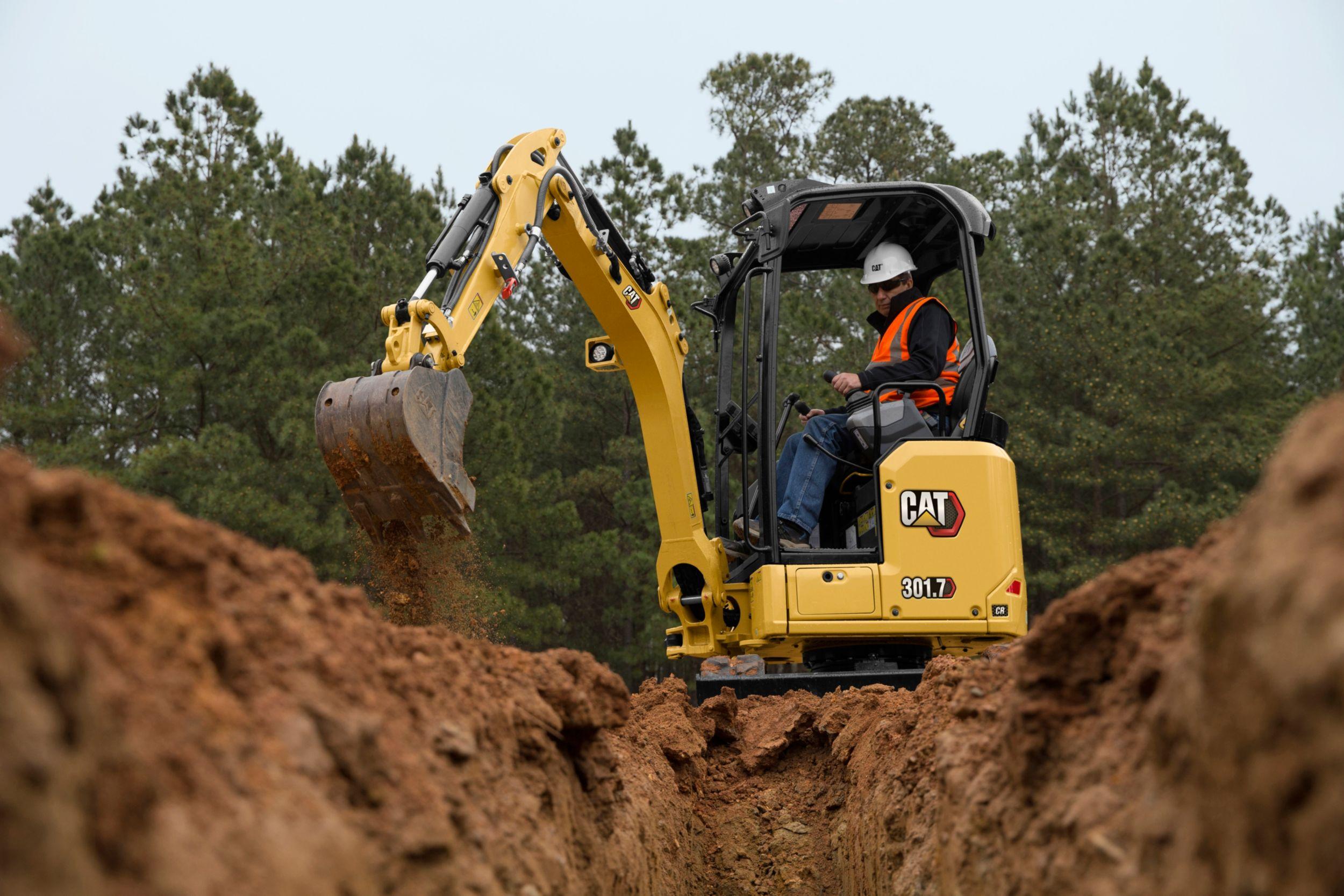 Cat 301.7 新一代迷你型挖掘机