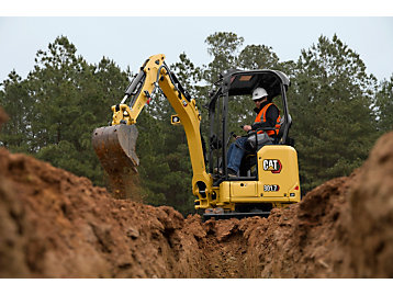 Cat 301.7 Next Gen Mini Excavator