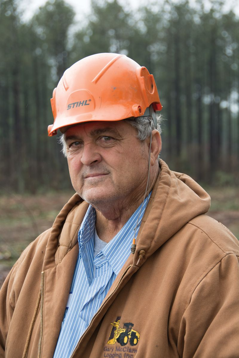 Gary Mclam, Owner and President, McClam Logging.