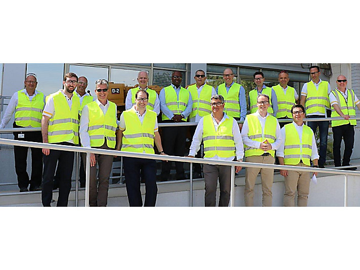 I.T.E hosted Caterpillar executives at I.T.E's Headquarters in the city of Holon.