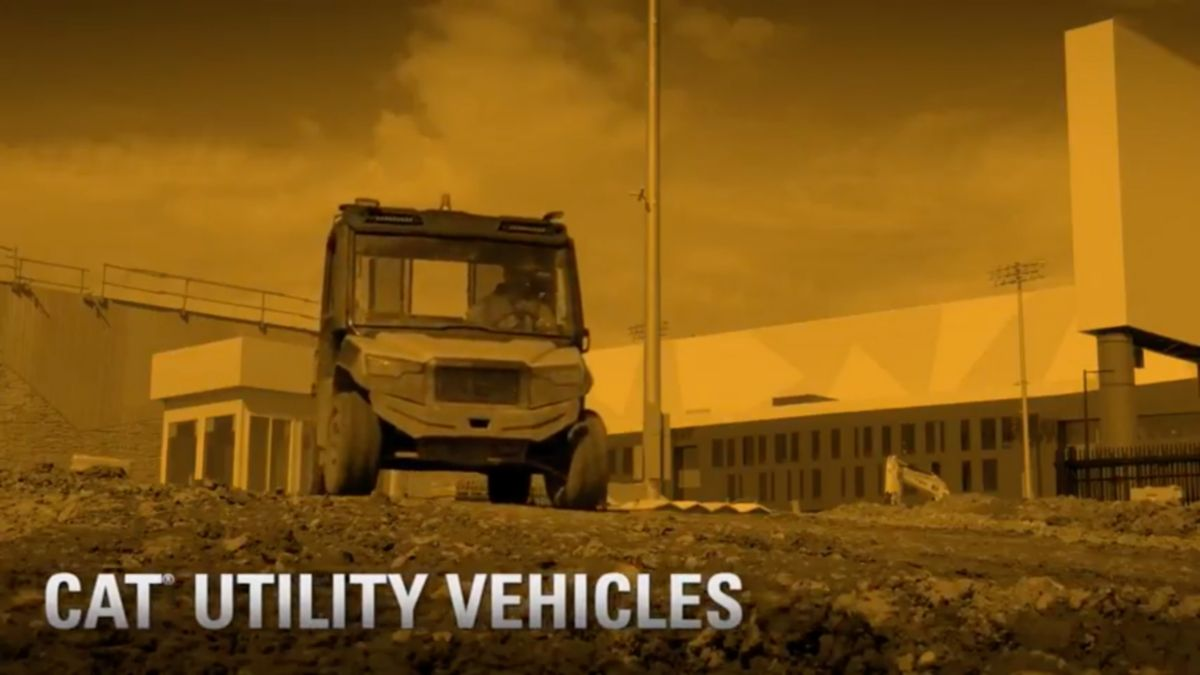 Cat® Utility Vehicle Customer Story - Frattalone Companies