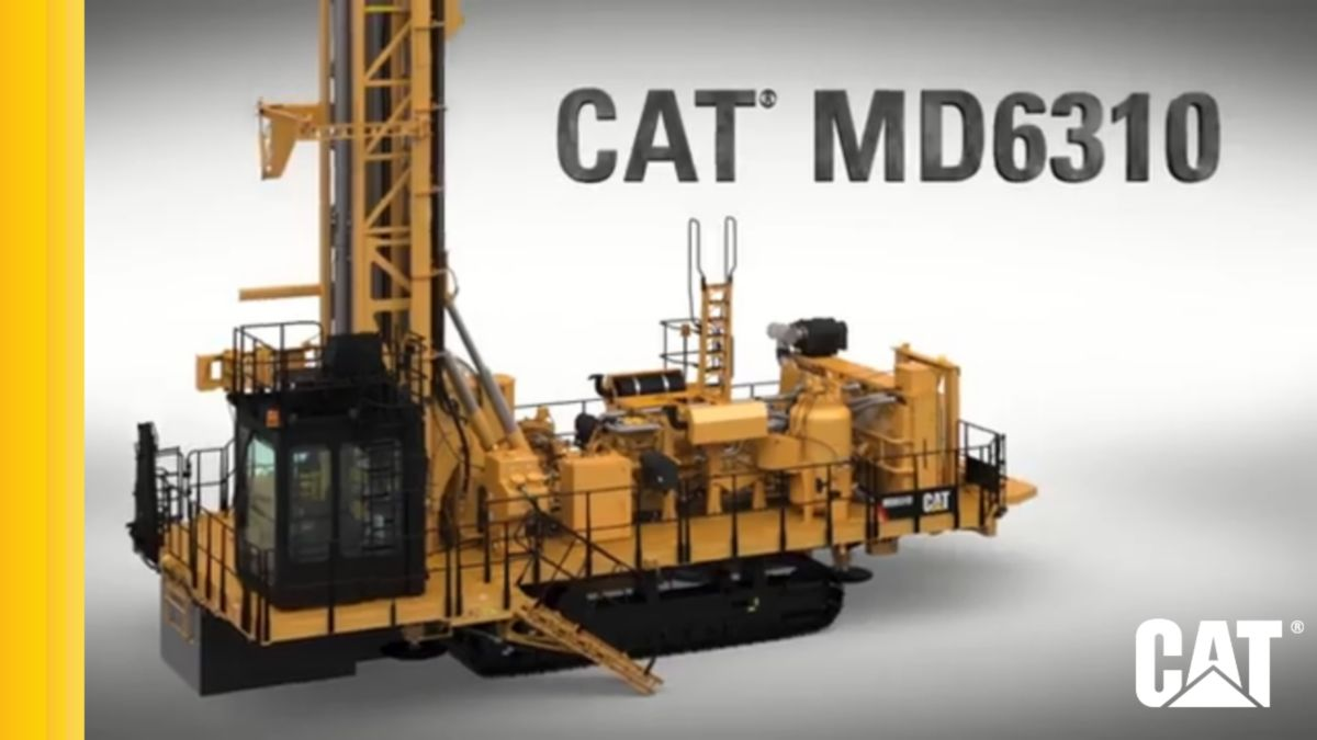 Cat® MD6310 Rotary Blasthole Drill Rig Video