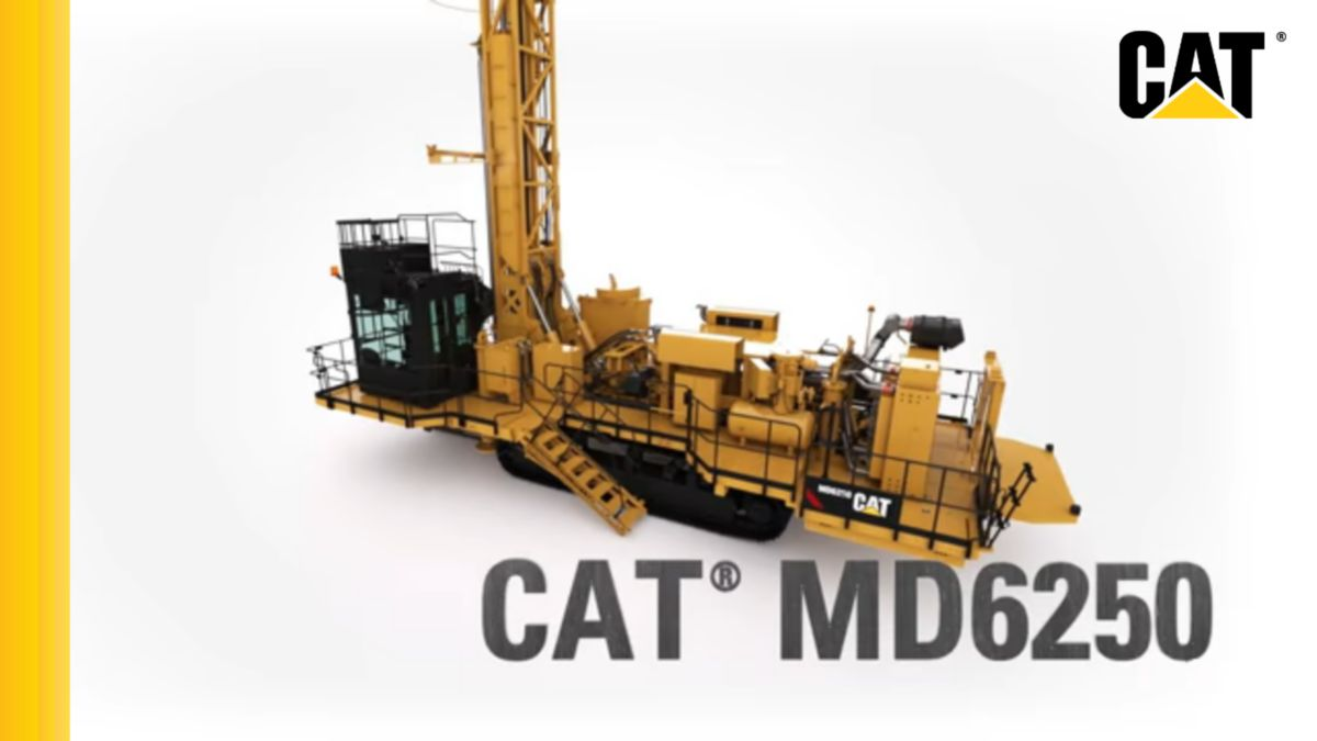 Cat® MD6250 Rotary Blasthole Drill Rig Video