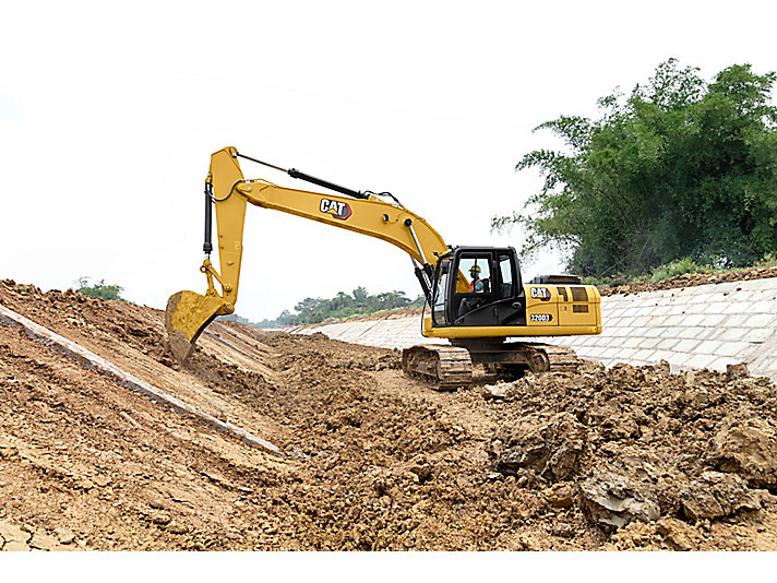 320D3 Medium Hydraulic Excavator
