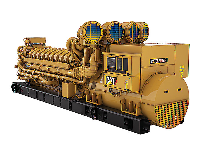 C175-20 Diesel Generator Set Left Front View