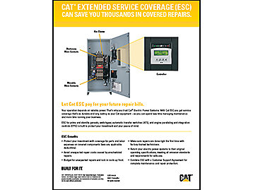 EXTENDED SERVICE COVERAGE (ESC) – Switchgear, ATS, EPIC