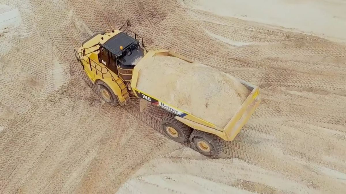 Cat® 745 Articulated Trucks - More power, more fuel saving features, and more state-of-the-art technology. See what makes the new Cat 745 Articulated Truck the number one choice for Reiner Earthmoving & Plant Hire in Australia.