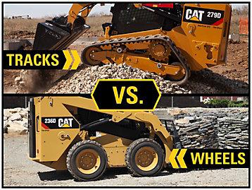 Tracks vs. Wheels