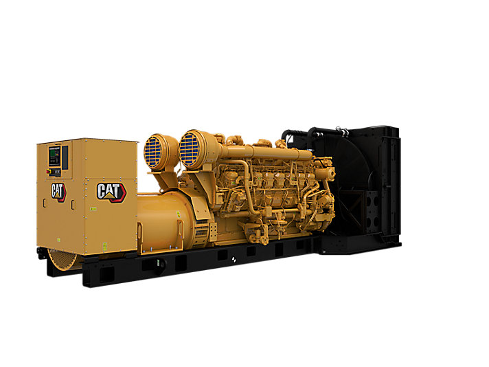 3516B Diesel Generator Sets Front right
