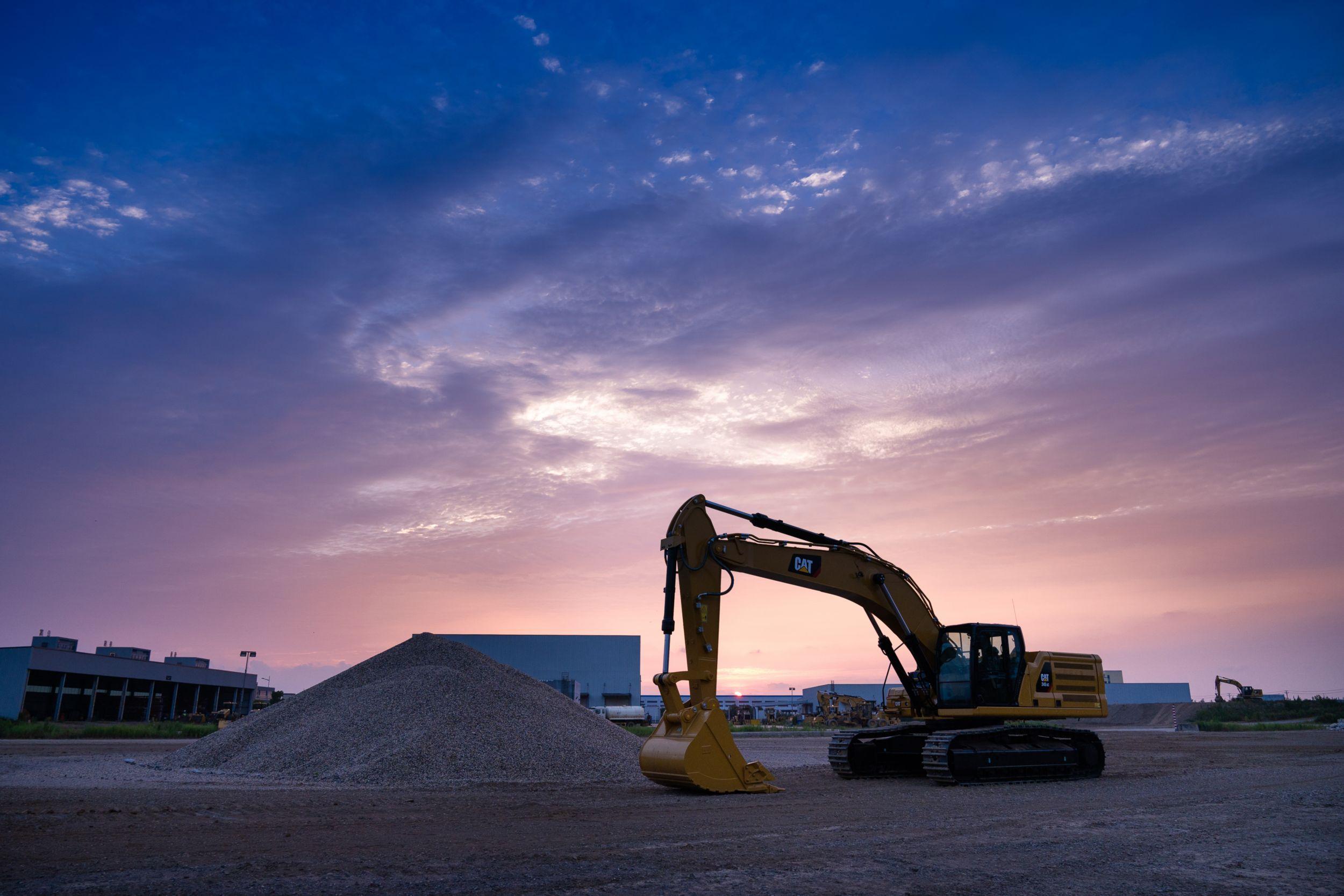 Cat 345 GC Excavator