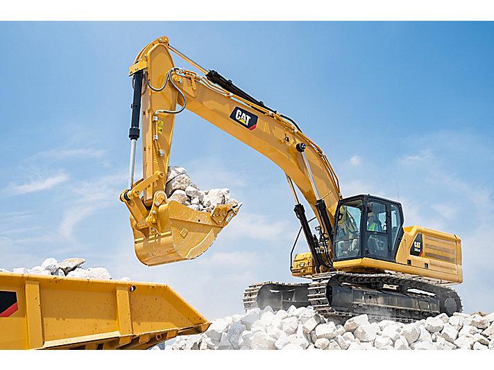 345 GC Hydraulic Excavator