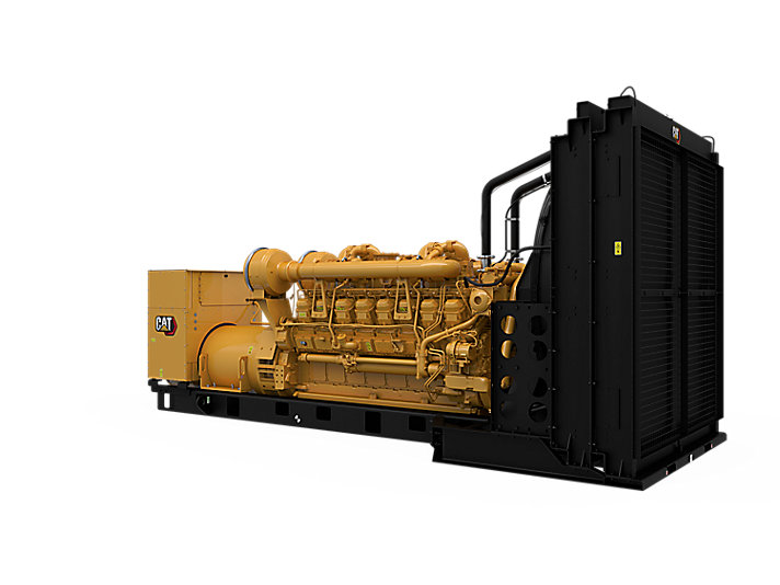 3516B Diesel Generator Sets Rear Left