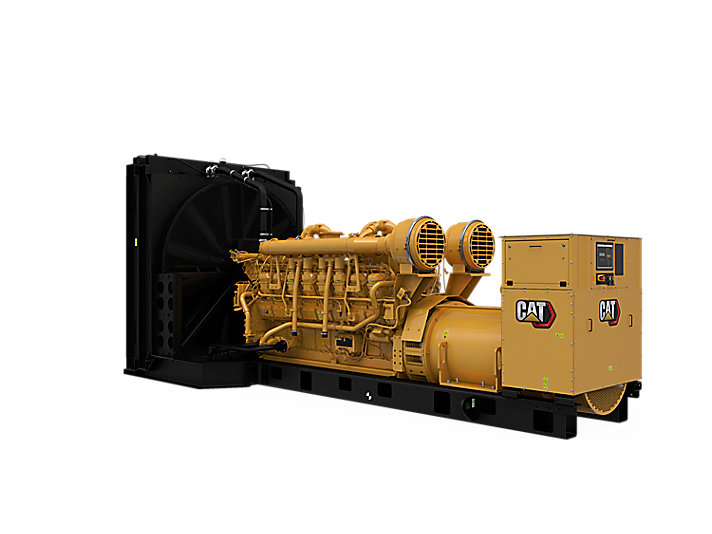 3516B Diesel Generator Sets Front Left