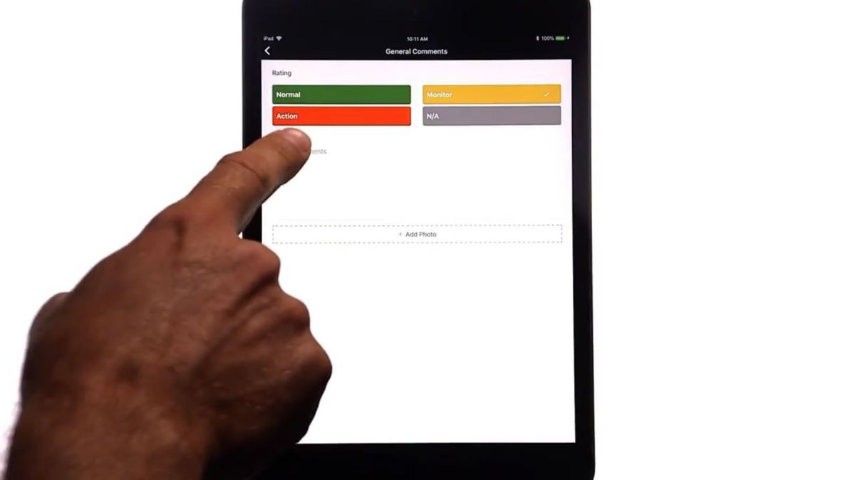 Cat® Inspect App – Demo – Customer Asset Info