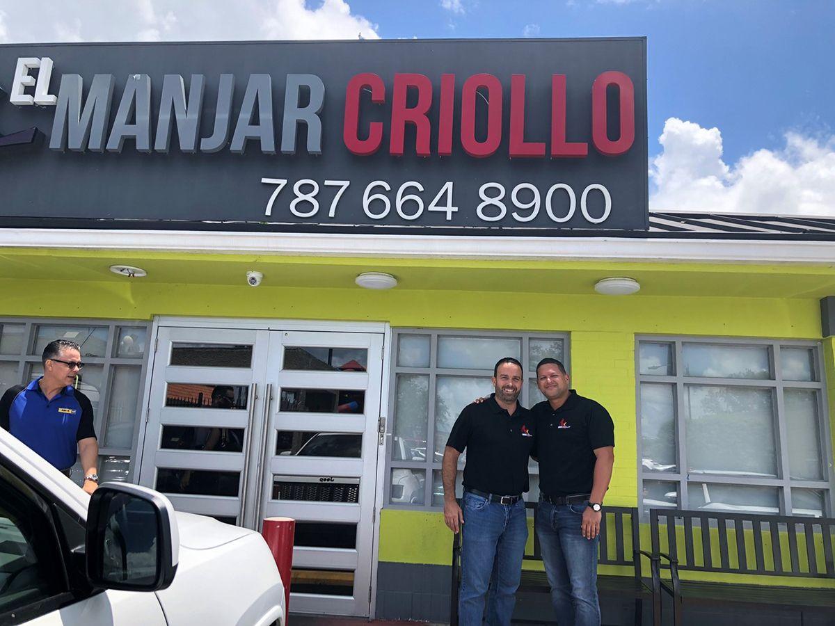 El Manjar Criollo restaurant in Puerto Rico