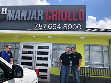Customer Stories El Manjar Criollo Restaurant