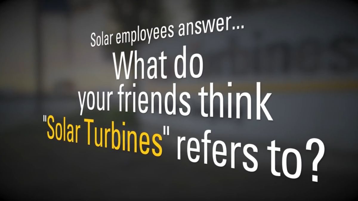 "Why the name ""Solar Turbines?"