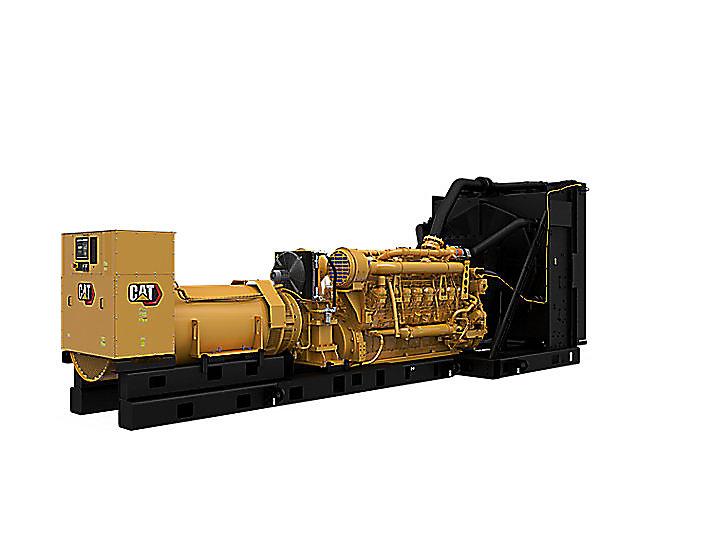 3516C 50Hz Tier 2, modulär styrning, vänster fram