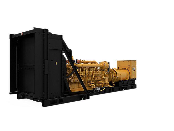 Bagian Kiri Belakang Kontrol Modular 3516C 50 Hz Tier 2