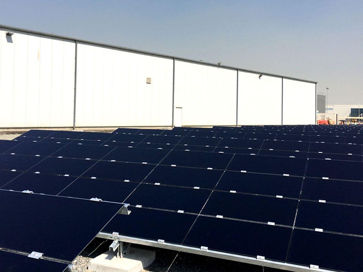 Global Dealer Learning Dubai Learning Center Solar Panels