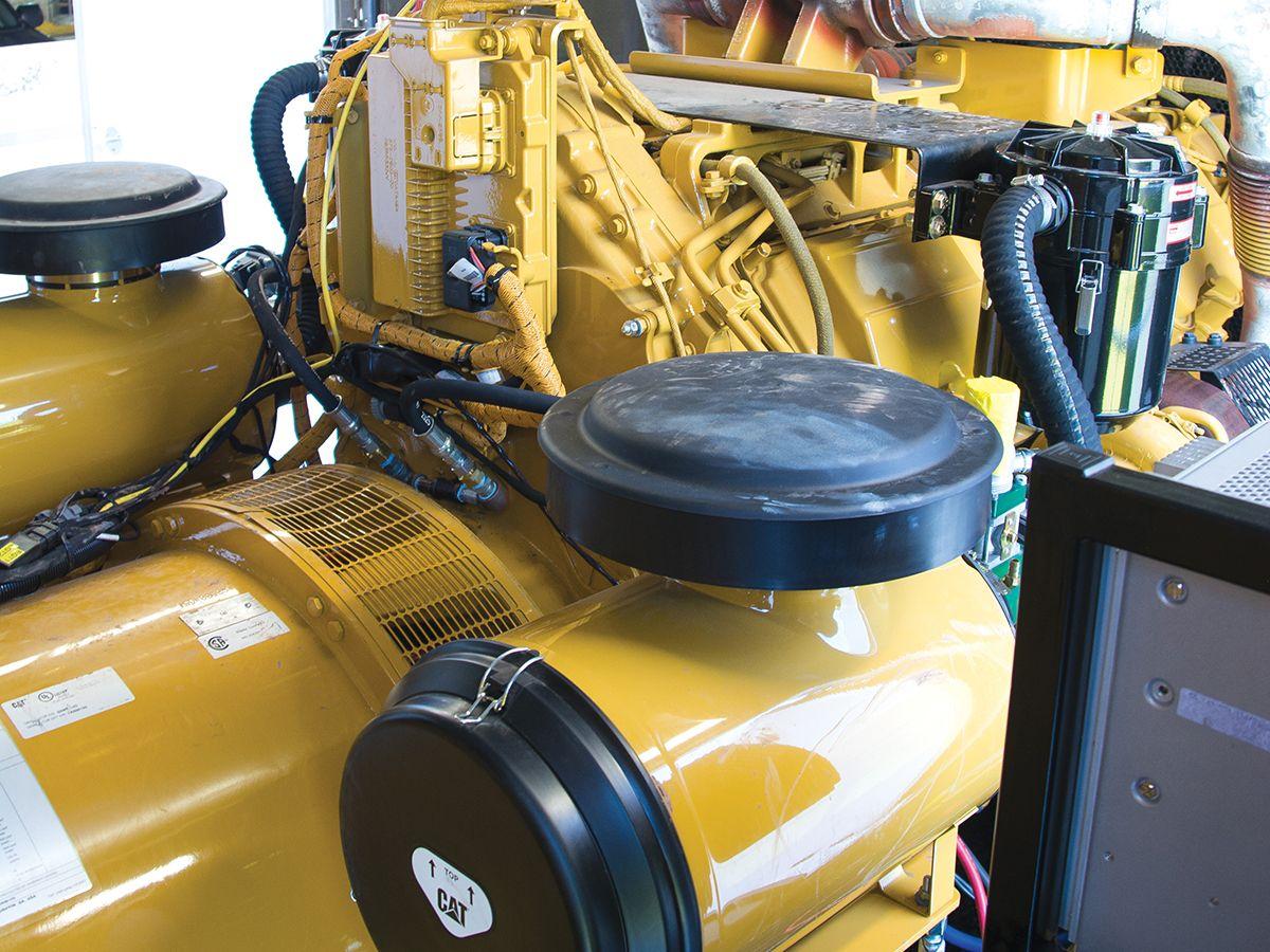 Cat® C27 generator set