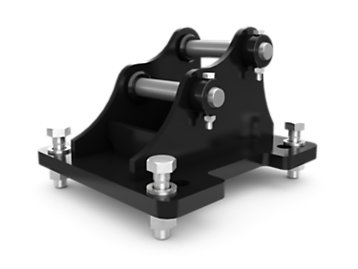 1 Ton Mounting Bracket - Pin On
