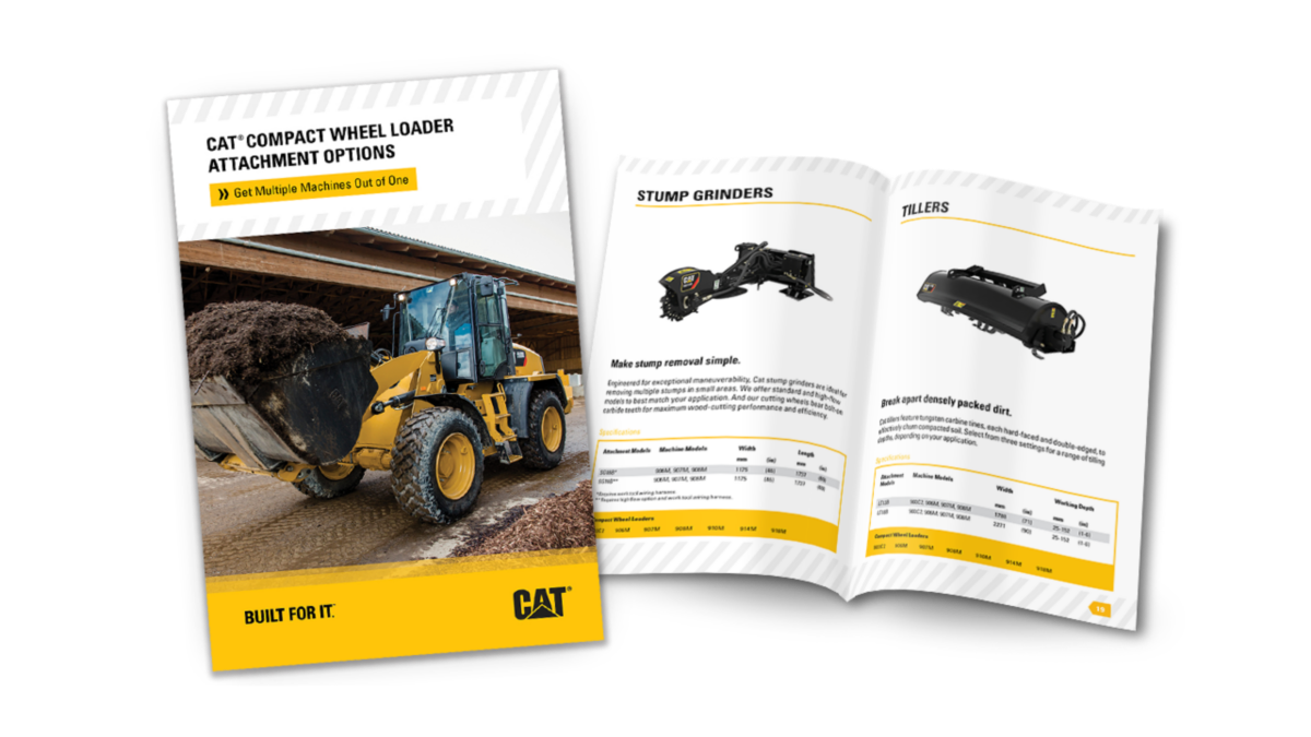 Compact Wheel Loader Attachment Brochure