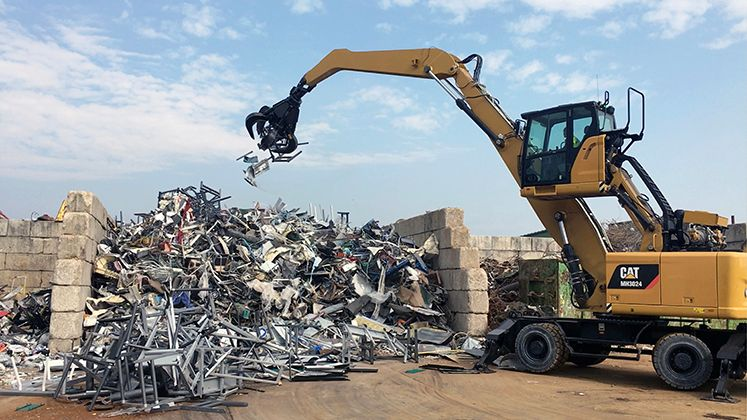 demolition, scrap & recycling