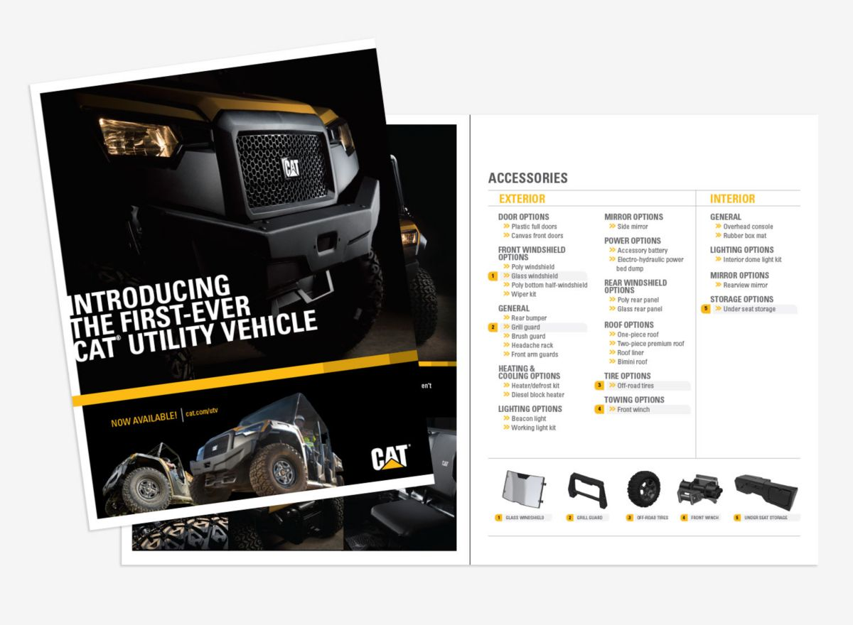 Cat UTV Family Brochure