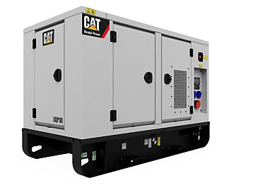 Cat® XQP30 mobile generator set