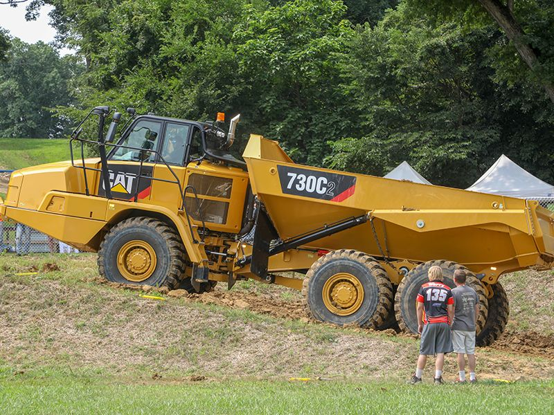 Cat® Machines (and Crew) Save the Day at Motorcycle Racing Event