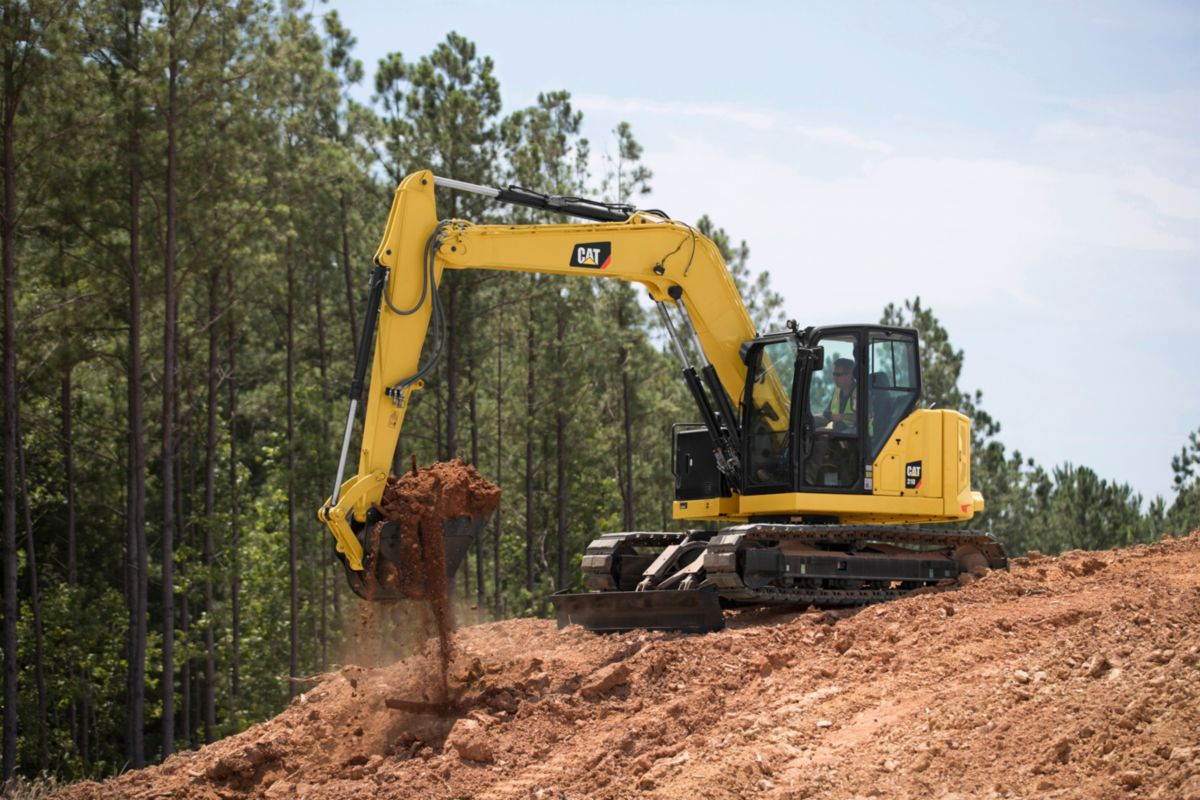 Cat 310 Next Gen Mini Excavator