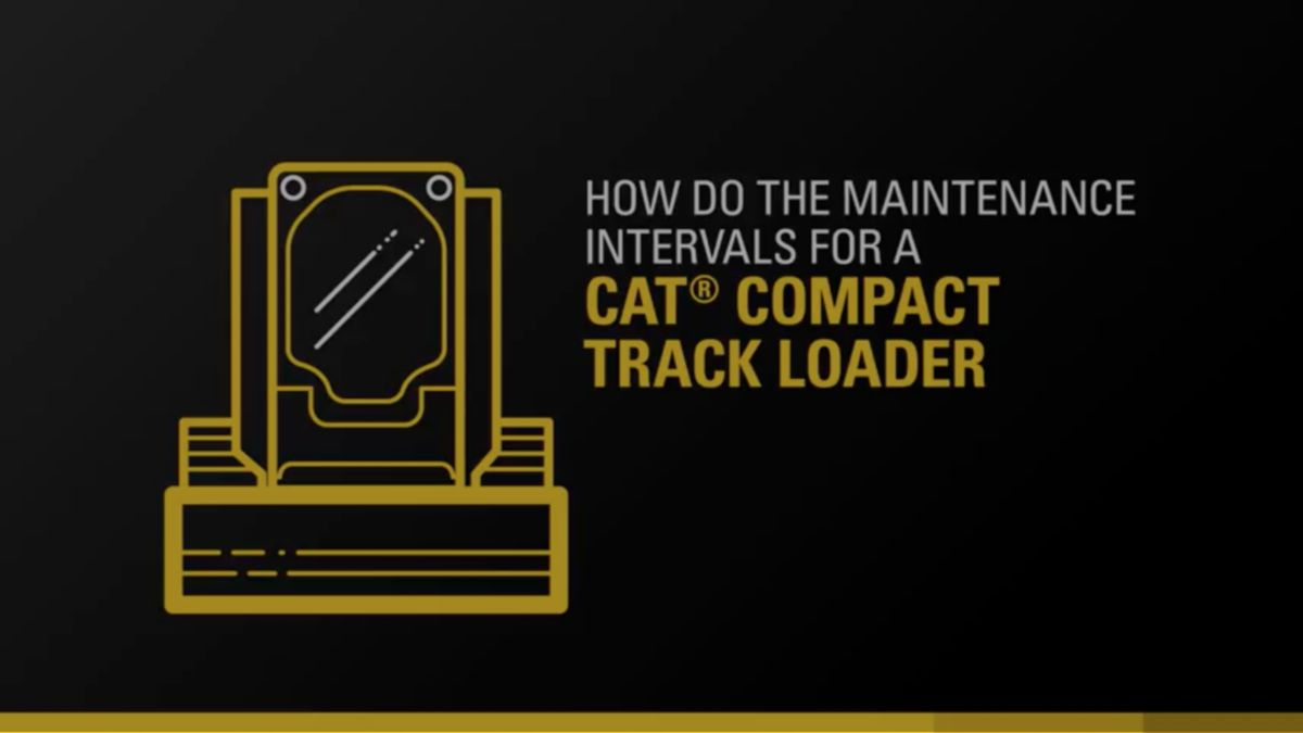 Hydraulic Oil Change Intervals on Cat Compact Track Loaders