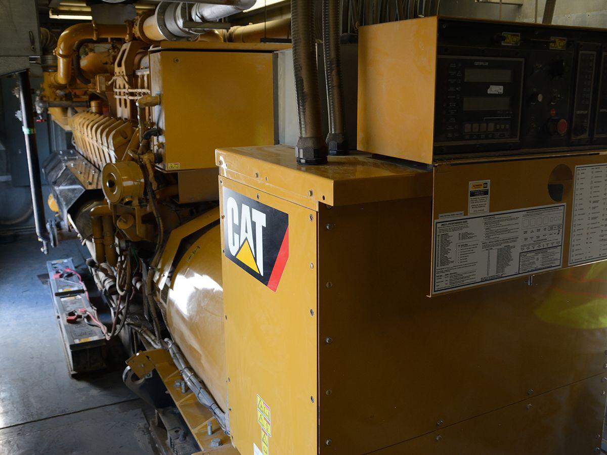 Cat® G3520C gas generator set