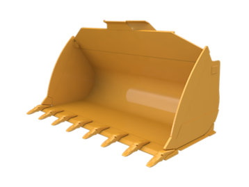 Flat Floor  Bucket 5.0m³ (6.50yd³)Performance Series