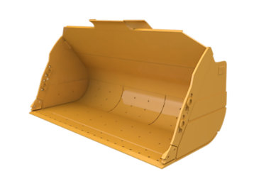 Flat Floor  Bucket 9.6m³ (12.50yd³)