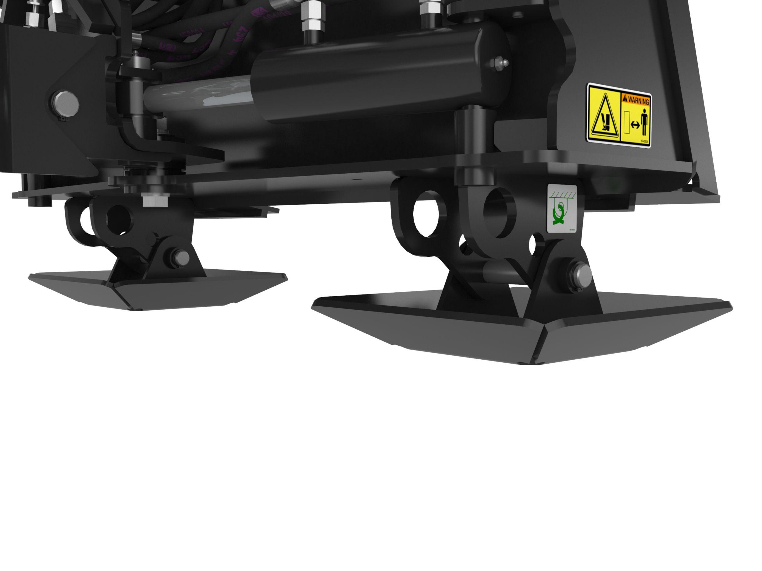 Cat Sg18b Stump Grinder Caterpillar 236 Engine Diagram Dual Height Pivoting Stand Feet