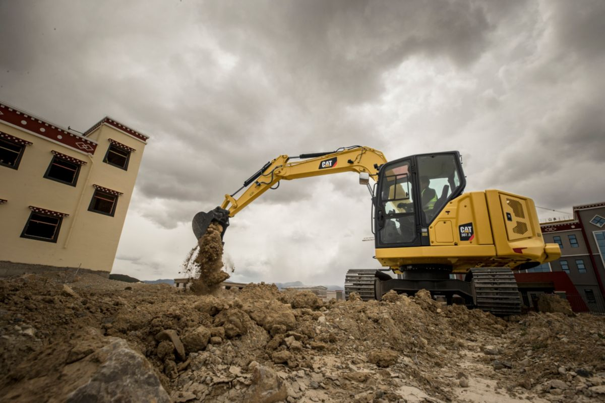 Cat 307.5 Next Gen Mini Excavator