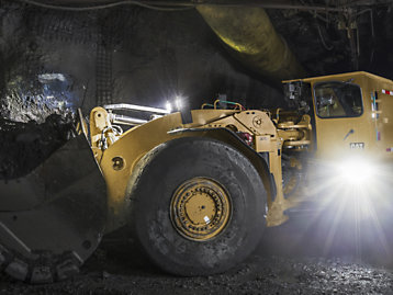 Cat® R1700 Underground Loader (LHD)