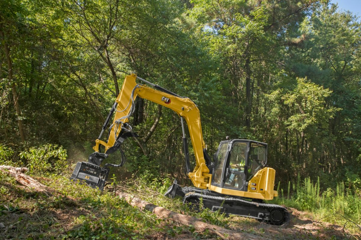 Cat 309 CR Next Gen Mini Excavator