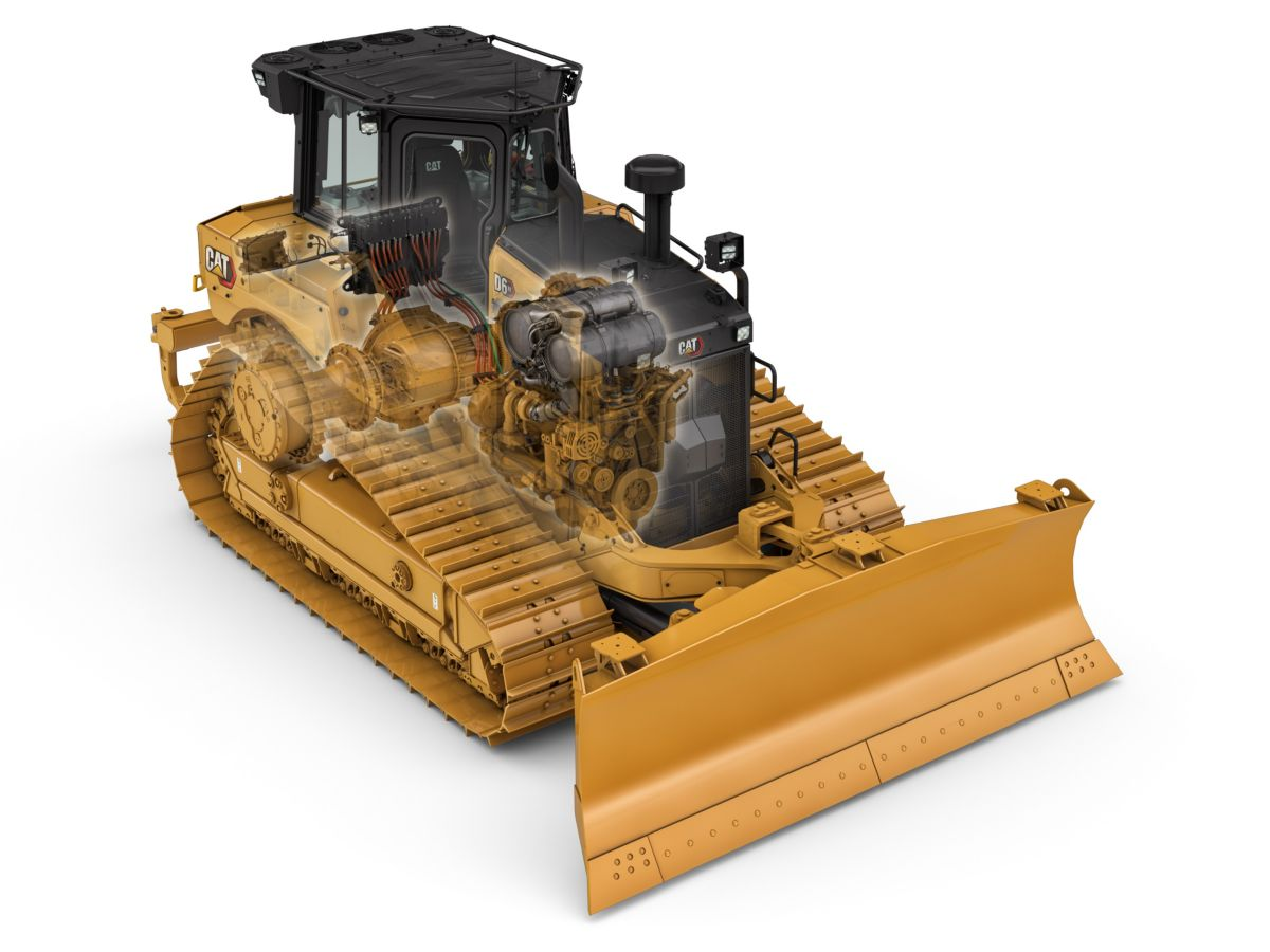 The new D6 XE is the world's first high drive Electric Drive dozer. Electric Drive is the most efficient way to transfer power to the ground, so a dozer can get more work done while using significantly less fuel.