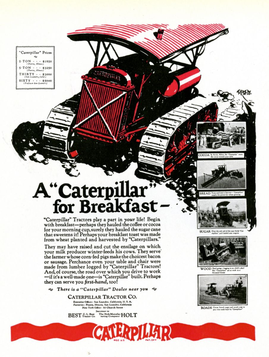 Farming & Agriculture 1958 Caterpillar D8 Series H Crawler Tractor Australian Sales Brochure With The Best Service Industrial