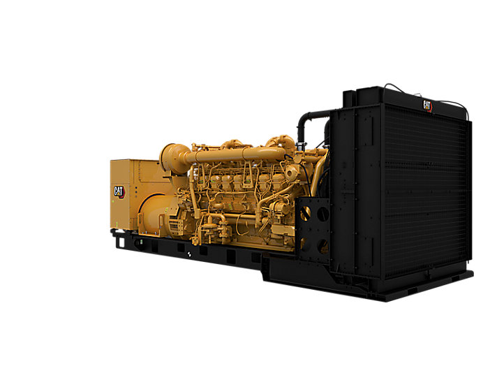 3516 DGB Generator Set Front Right