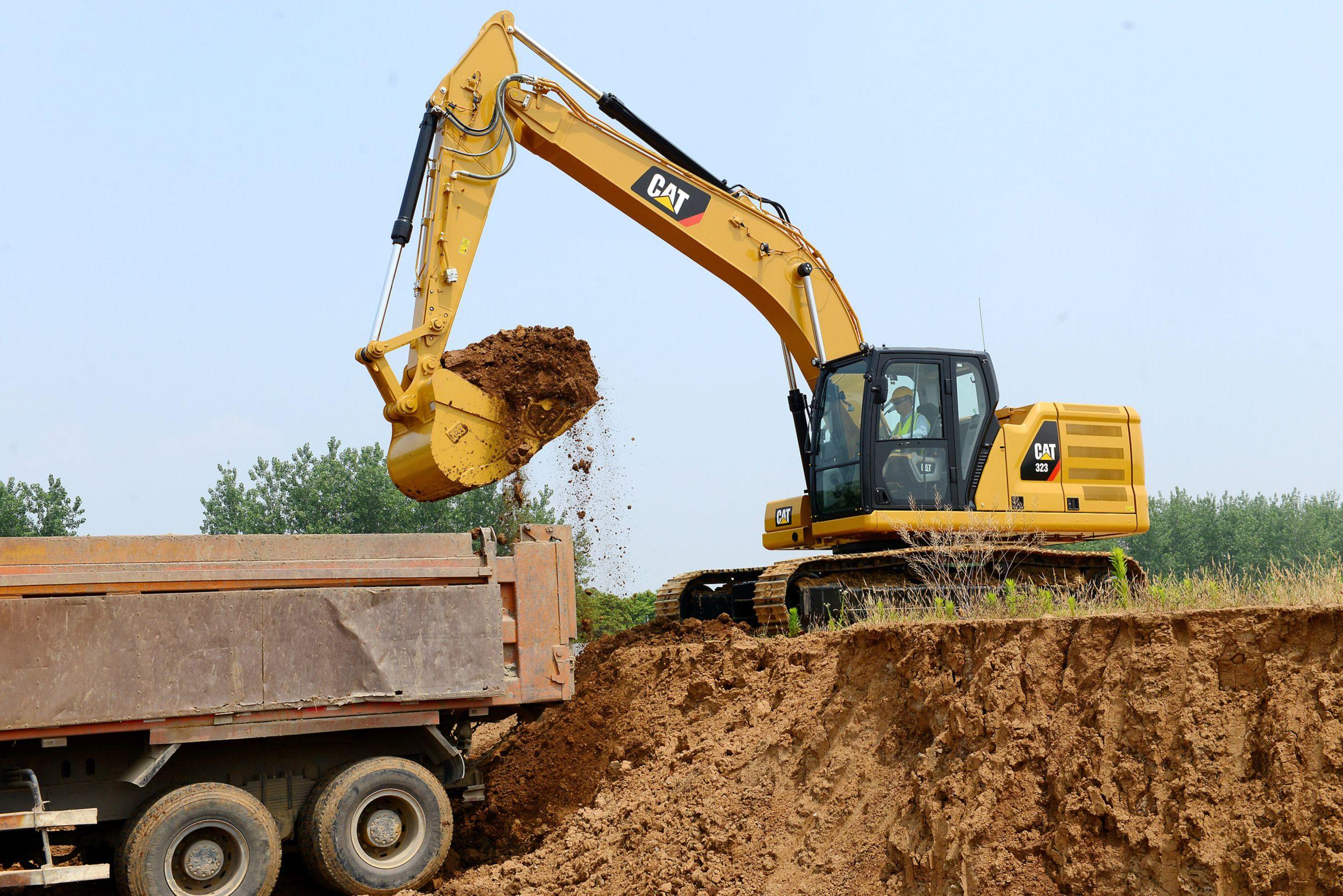 Cat 323 Next Generation Excavator