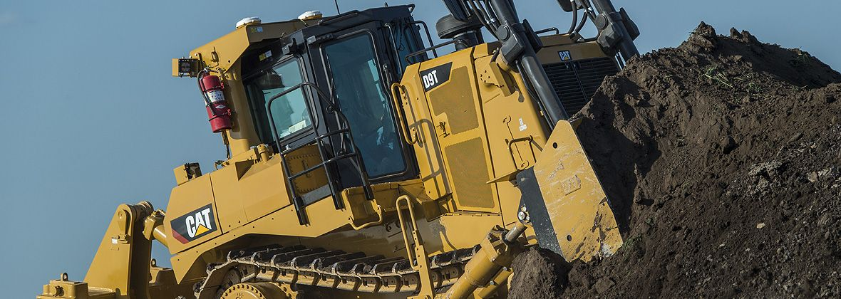 Cat® D9 Dozer by Caterpillar - Track-Type Tractor