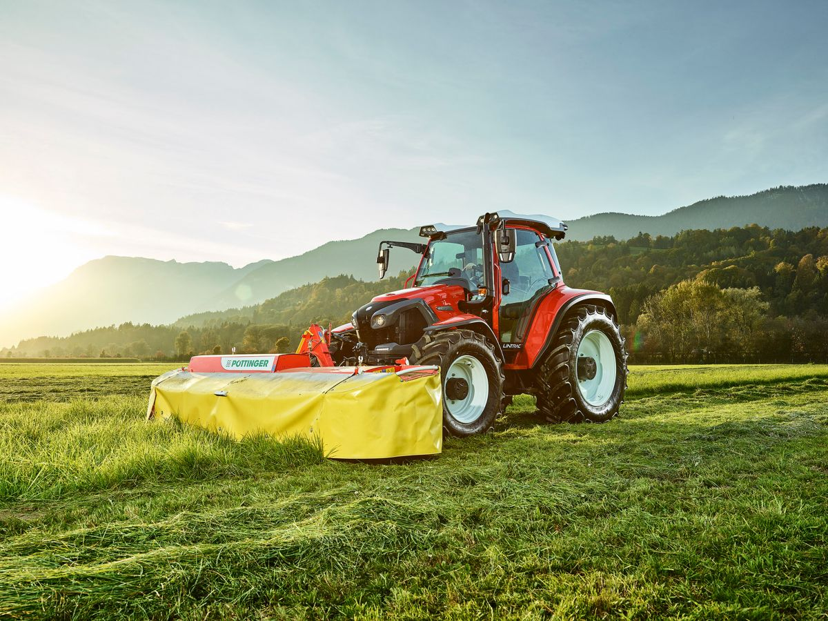 Perkins helps Lindner hit new heights with Lintrac 110