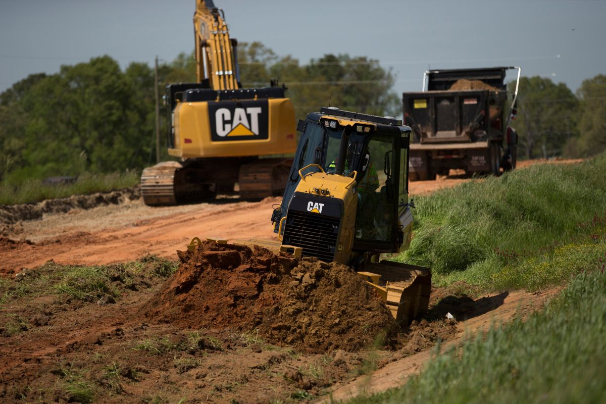 Cat D5K2 STTT using GRADE with 3D