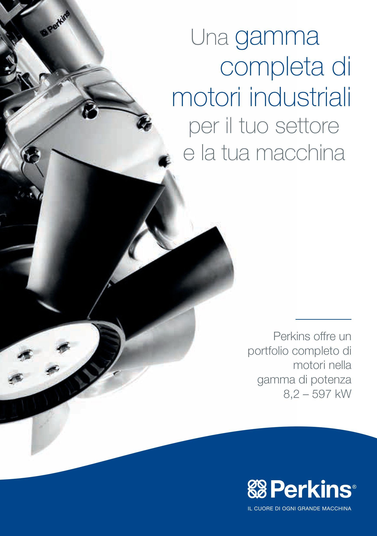 Una gamma completa di motori industriali per il tuo settore e la tua macchina