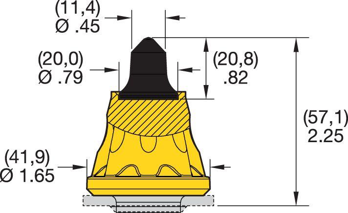 SK5-03 Road Milling Teeth
